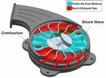 Гиперэкономичный волновой дисковый двигатель