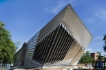 Eli and Edythe Broad Art Museum at Michigan State University, designed by Zaha Hadid. Photo by Paul Warchol